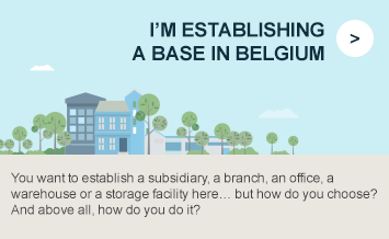 I'm establishing a base in Belgium