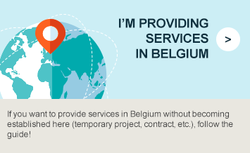 I'm providing services in Belgium